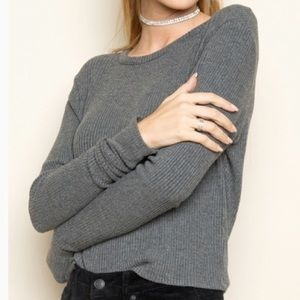 brandy melville ribbed sweater